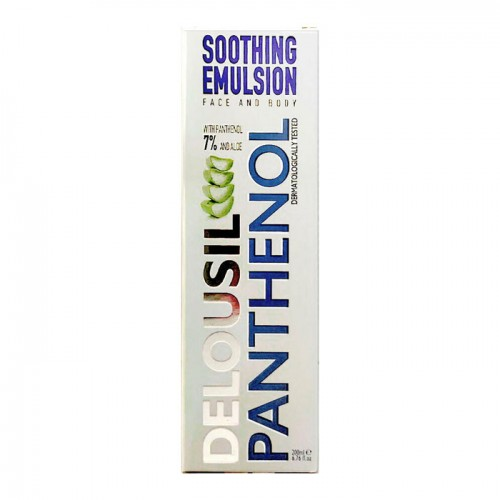 DELOUSIL PANTHENOL SOOTHING EMULSION FACE AND BODY 200ml