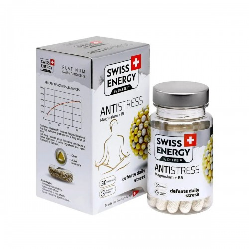 SWISS ENERGY ANTISTRESS MAGNESIUM + B6 30 CAPS